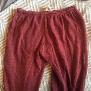 PacSun Pants - Maroon Joggers